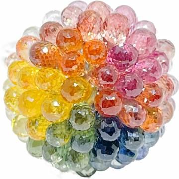 Colour Sapphire Ring